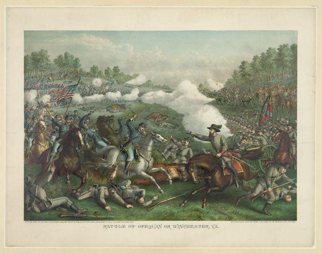 Battle of Opequan_LOC