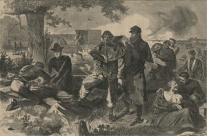 The Civil War Surgeon at Work in the Field, Winslow Homer, 12 July 1862 (National Library of Medicine, public domain)