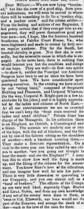 Henry D. Wharton - 11th PA Volunteers-Sunbury Guards - Letter Home 4 June 1861