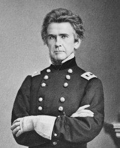 Major-General Ormsby M. Mitchel, Commanding Officer, U.S. Department of the South, circa 1862 (public domain).