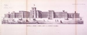 """Known as the Government Hospital for the Insane until its name was formally changed by the U.S. Congress to St. Elizabeths (the name used by patients when writing letters home due to the stigma associated with mental illness), the facility was the first psychiatric hospital to be operated by the federal government and was, according to the Library of Congress, """"a remarkable innovation in this type of institution marking a shift away from incarceration treatment toward active therapeutic treatment of mental illness."""" Image: Public Domain."""