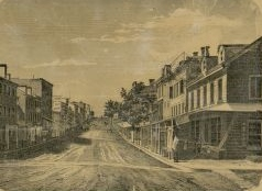 Northampton Street, Easton, Pennsylvania, c. 1860 (public domain).