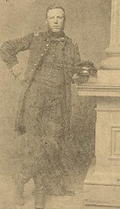 Captain John Peter Shindel Gobin, Co. C, 47th Pennsylvania Volunteers, c. 1862 (public domain).
