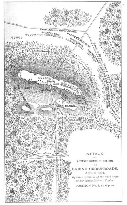 Battle of Mansfield-Sabine Cross Roads (8 April 1864)