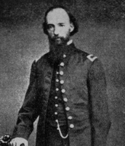 "Professor Thomas Coates, the ""Father of Band Music in America"", led the Regimental Band, 47th Pennsylvania Volunteer Infantry from August 1861 to September 1862. (Source: Public domain.)"