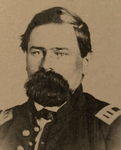 "Captain Henry Durant (""H.D."") Woodruff, commanding officer of Company D, 2nd Pennsylvania Volunteers (April-July 1861) and Company D, 47th Pennsylvania Volunteers (31 August 1861 - 18 September 1864); public domain."