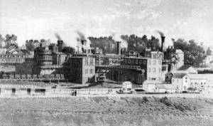 Allentown, Pennsylvania (c. 1865, public domain).