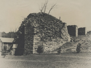 Photos of the Paradise and Rough and Ready iron furnaces, c. 1935. Source: The Swigart-Shedd family collection on Pennsylvania iron furnaces, 1845-1991, Historical Collections and Labor Archives, Special Collections Library, University Libraries, Pennsylvania State University.