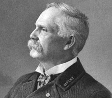 Colonel Albert S. Shaw, G.A.R. National Commander (c. 1890s, public domain)