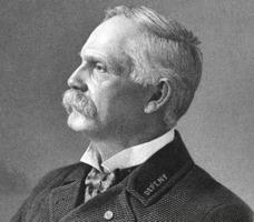 Colonel Albert S. Shaw, G.A.R. National Commander (c. 1890s, public domain)