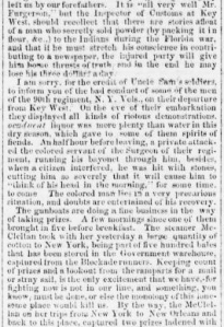 Henry D. Wharton's Letter Home, 3 May 1863, part 2 (Sunbury American, 30 May 1863)