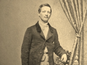 George W. Hall, 47th Pennsylvania Volunteers, Company A (c. 1864, public domain)