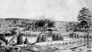 Catasauqua, Lehigh County, Pennsylvania (c. 1852, public domain)