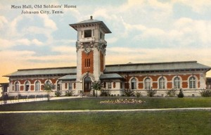 Mess Hall, Mountain Branch, U.S. National Home for Disabled Volunteer Soldiers, Johnson City, Tennessee (c. 1903, public domain).