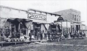 Church Street, Ottumwa, Iowa, circa 1870s (U.S. Library of Congress, public domain).