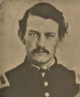 2nd Lt. Alfred Swoyer, Co. K, 47th Pennsylvania Volunteers, circa 1862 (public domain)