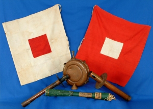 Standard Civil War Union Army Signal Corps Kit (U.S. Army Historical Collection, public domain).