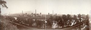 Bethlehem Steel, c. 1896 (William H. Rau, U.S. Library of Congress, public domain).