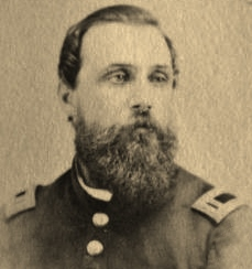 Adjutant and 1st Lieutenant Washington H. R. Hangen (c. 1862-1864, public domain).