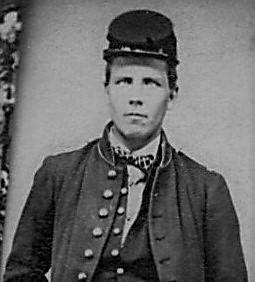 Pvt. Nicholas Orris, Co. H, 47th PA Vols_c. 1863_head bw