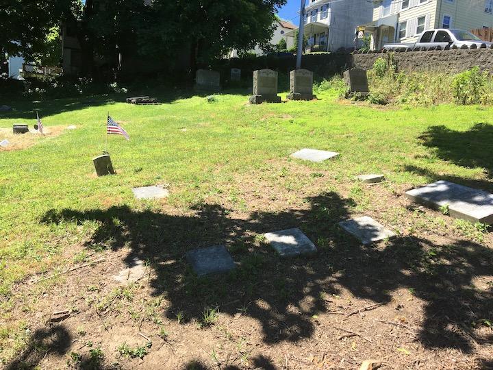 Graves of Jacob T. Ochs and Family, John Rohal, 2020