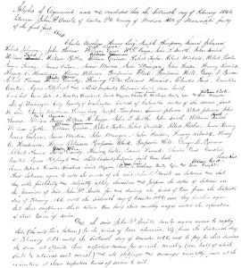 Blanchard-Bullard_Madison Co., MS_Freedmen's Bureau Contract, Feb-Dec 1866, p. 1