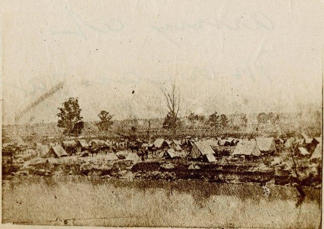Union Army at Morganza Bend, Louisiana, c. 1863-1865_USLOC, pubdom